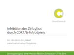 Inhibition des Zellzyklus durch CDK4/6-Inhibitoren - Overkamp