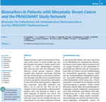 Biomarkers in Patients with Metastatic Breast Cancer and the PRAEGNANT Study Network