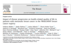 Impact of disease progression on health-related quality of life in patients with metastatic breast cancer in the PRAEGNANT breast cancer registry